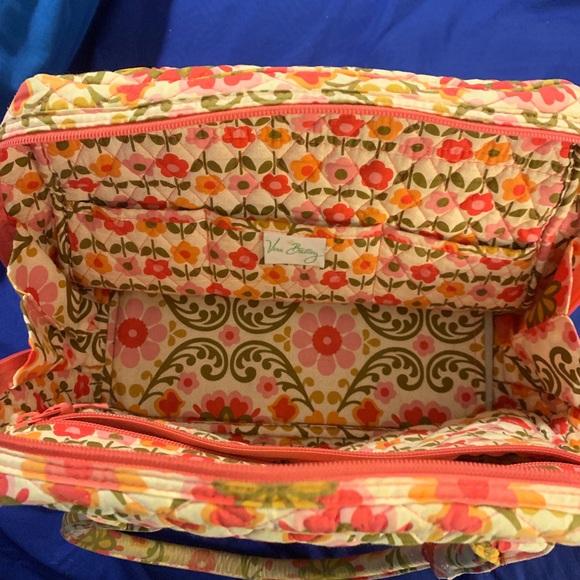 Vera Bradley Handbags - Vera Bradley RETIRED Folkloric Pattern Tote Bag